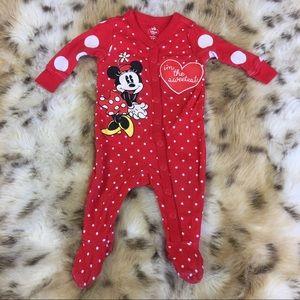 Disney Minnie Mouse Footsie Pajama
